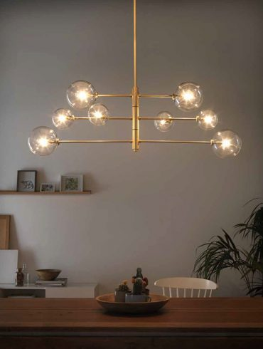 Lámpara Colgante ATOM de Aromas