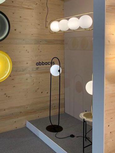 Lámpara de pie ABBACUS