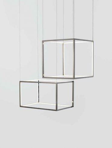 La Lámpara Colgante LED Cube-X