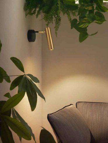 Lámparas de pared MARU de Aromas